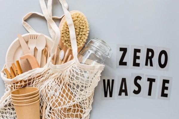 zero waste with reusable tableware