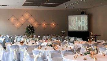 minimalist event space for christmas party kuala lumpur