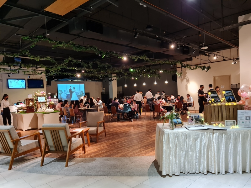 a minimalist event space for any kind of party in Singapore