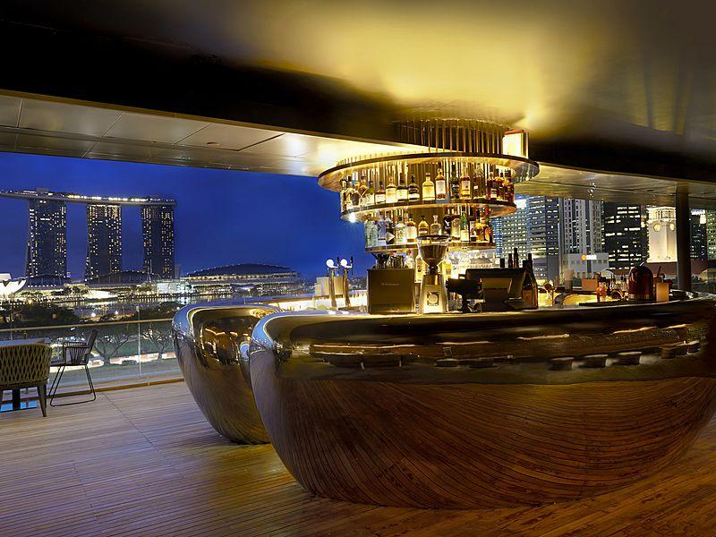 Elegant bar from Smoke & Mirrors
