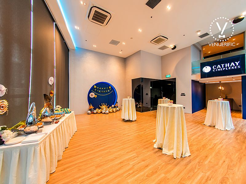 venue photo of the loft event space at cathay cineplex