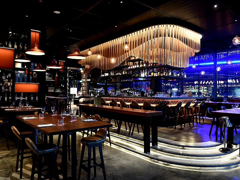 modern venue for christmas clebration