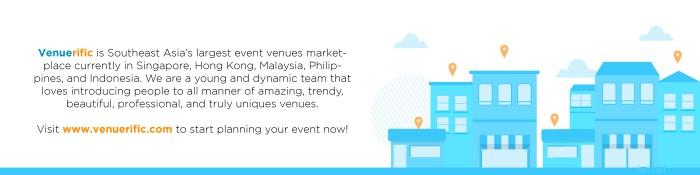 about venuerific, asia's largest event venue marketplace