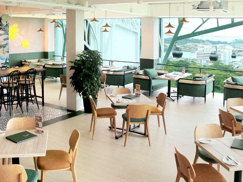 Beautiful event space on Mount Faber