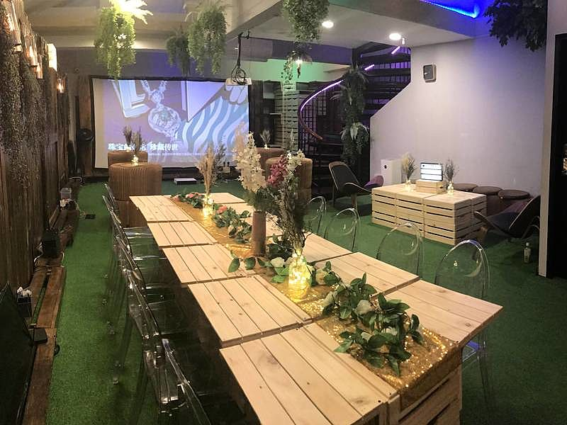 into the woods event space in Singapore