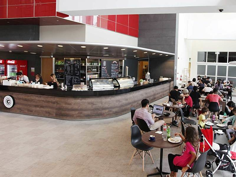 OTC cafe located at Singapore's National Library