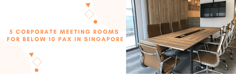 corporate meeting rooms 10 pax singapore