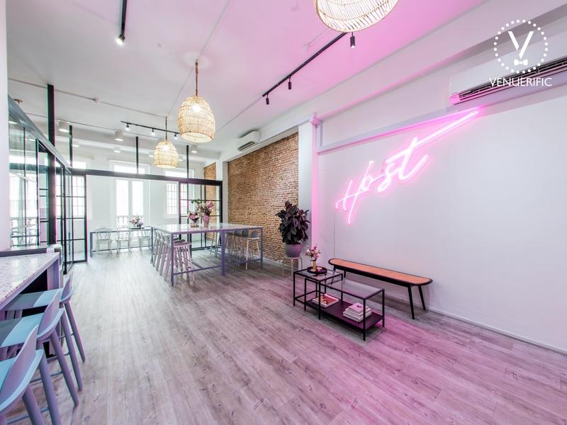 pink aesthetics at Host