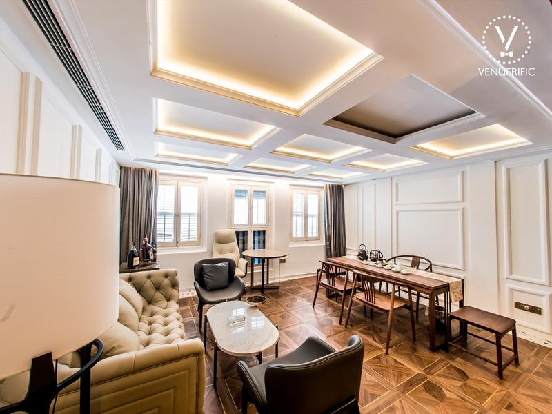 royal tea house suitable to host conversations