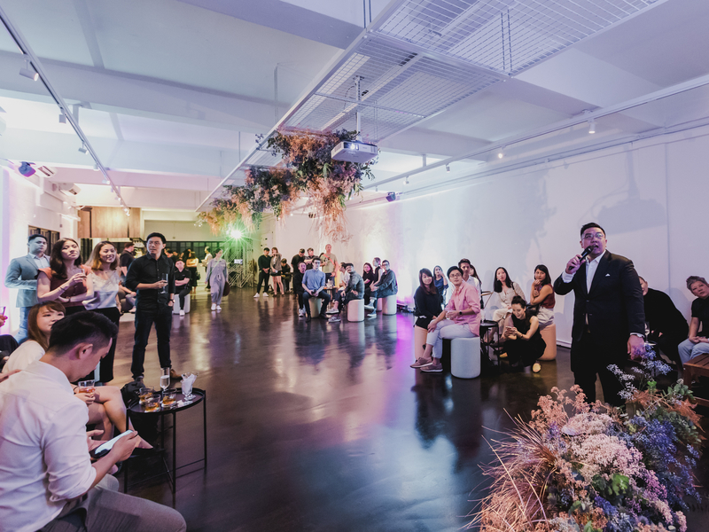beautiful floral aesthetics for company events