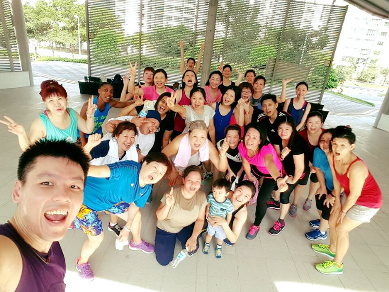 zumba dance session singapore