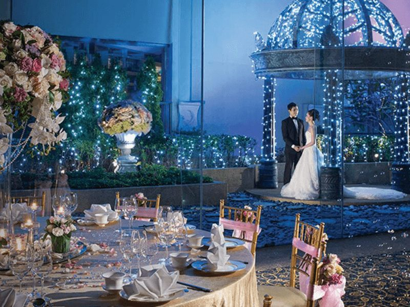 Grand Copthorne Waterfront Hotel amazing ballroom