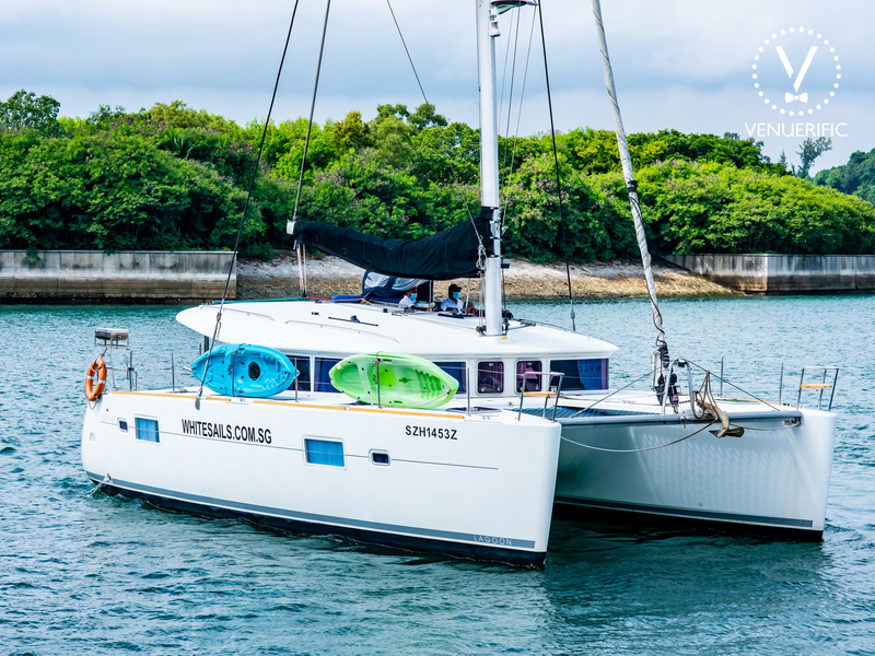 yacht on sea