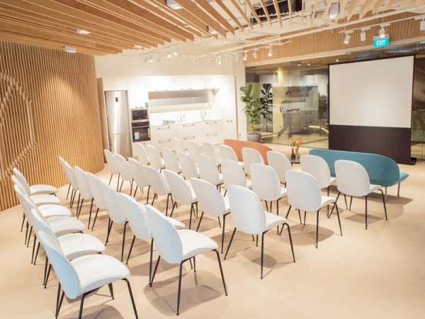 theatre seating style for business seminar