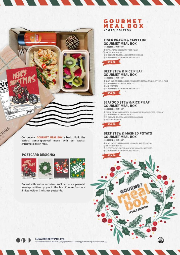 christmas deals in meal box by luna singapore