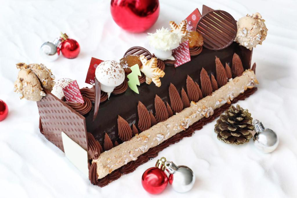 singapore christmas cakes with chocolate edition