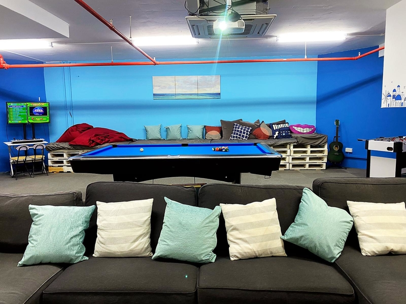 private event space with a lot entertainment facilities