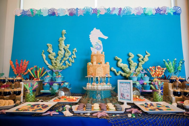 Finding Dory and Under the Sea Themed Birthday Party