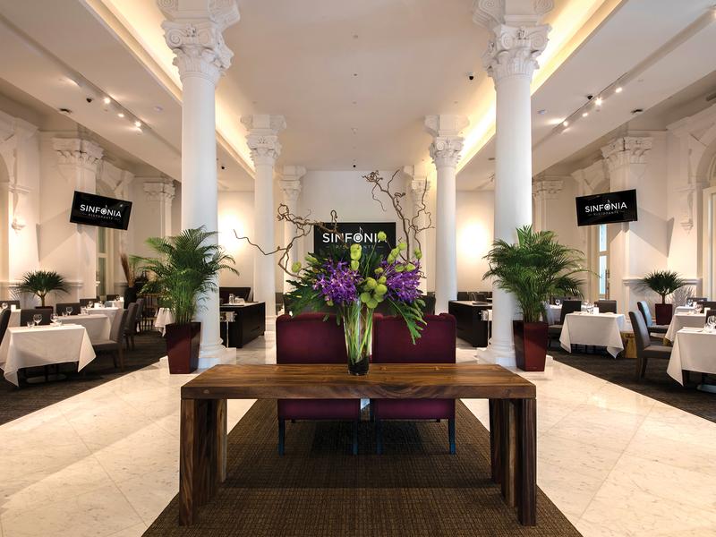 beautiful indoor dining area for solemnisation