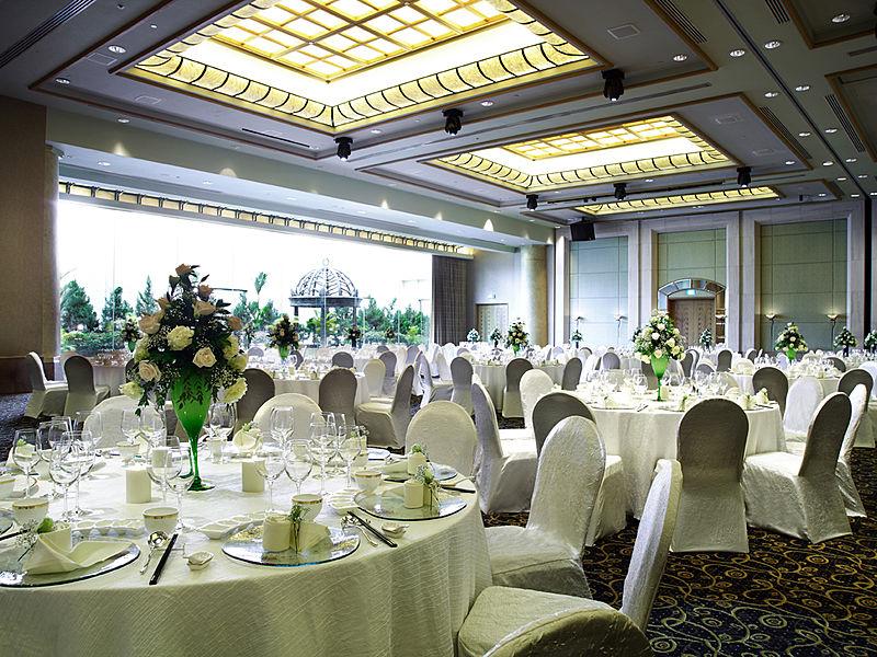 wedding hall in hotel