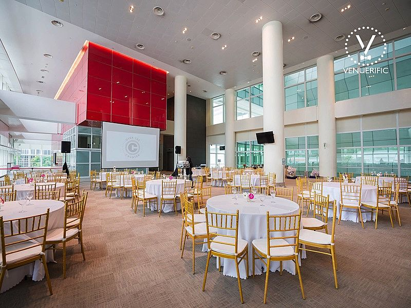 wedding event space inside national library