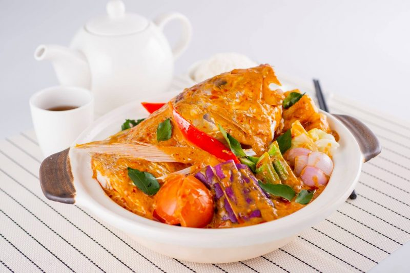 Best restaurant deals in Singapore at Famous Treasure - Fish Head Curry