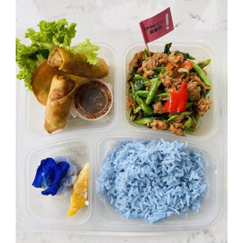 thai takeaway Blue jasmine #StayHome