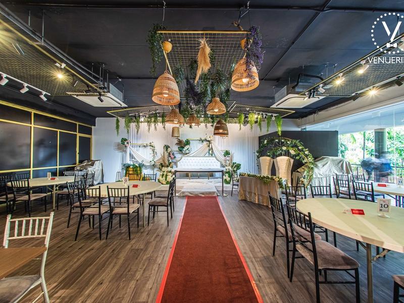 Virtual Wedding Solemnisation room