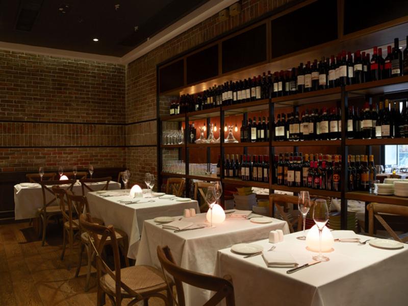 romantic indoor seating area in a restaurant