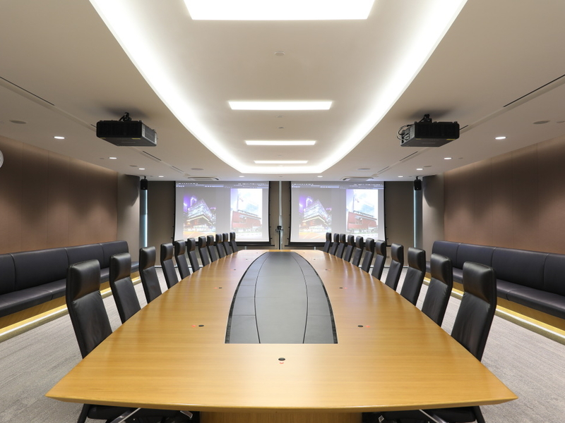 professional business meeting room