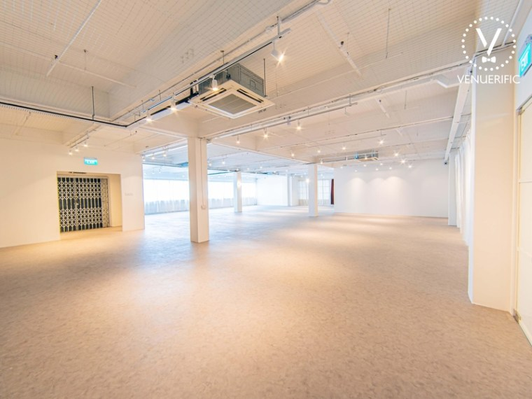 Spacious area for corporate product launches and events Singapore