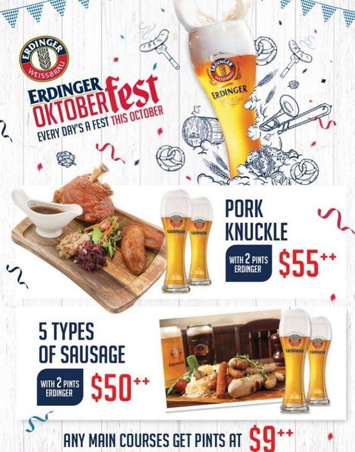 promo packages of Oktoberfest celebration