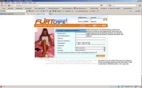 Flirtcafe Anmeldung