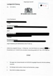 Urteil-National-Inkasso-Schuldtitel
