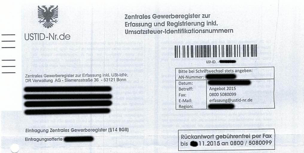 Bild DR Verwaltung AG Formular Logo