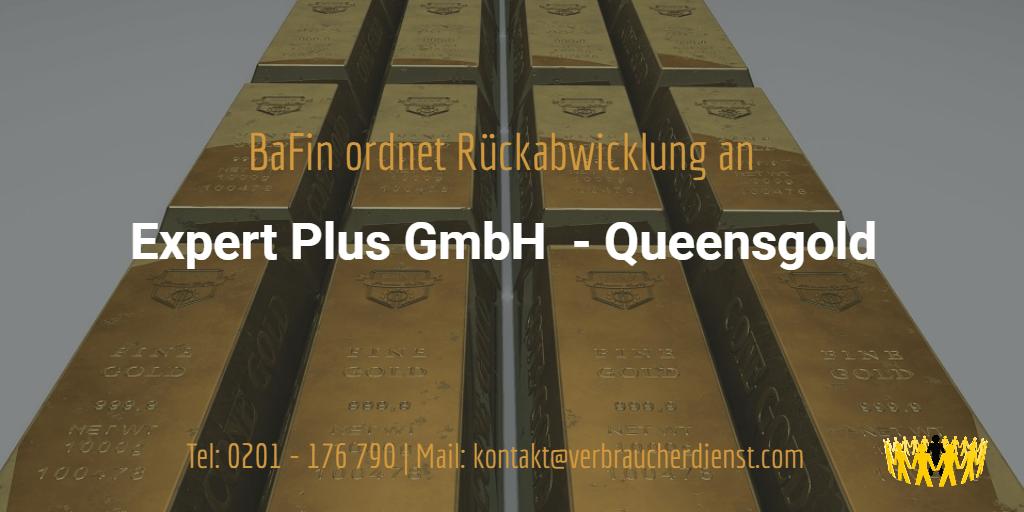 Beitragsbild: Expert Plus GmbH Queensgold Rückabwicklung