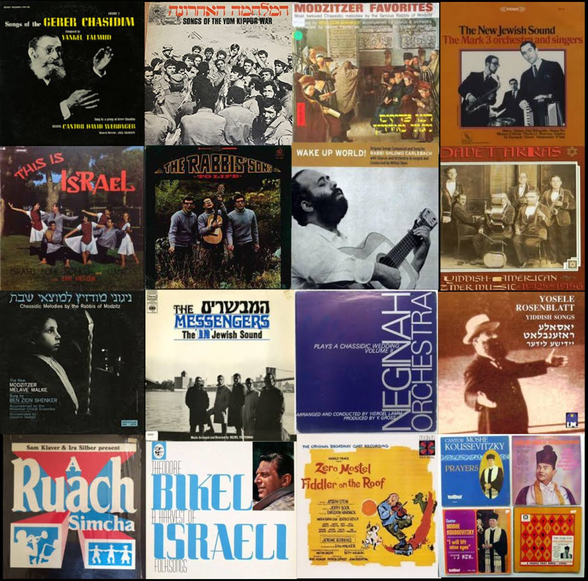 The Evolution – What Happened To Jewish Music?