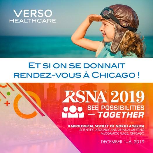 Verso Healthcare au RSNA 2019