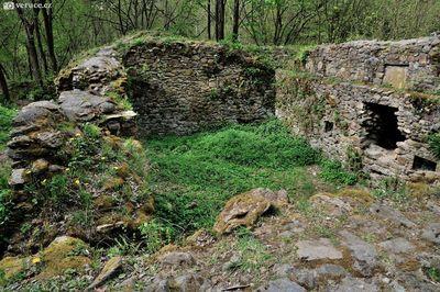 Zřícenina hradu Ronovec