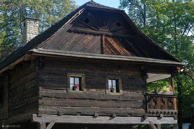 Valašské muzeum v přírode - Dřevěné městečko