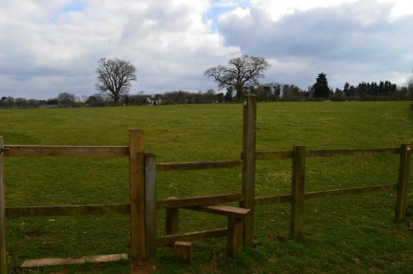 Stepped stile - ворота со ступенькой