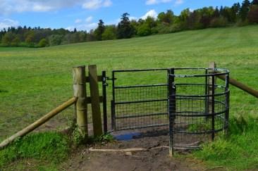 Ворота поцелуйчики - полукруглые
