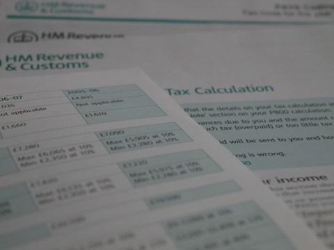 Жизнь в Великобритании: Income tax