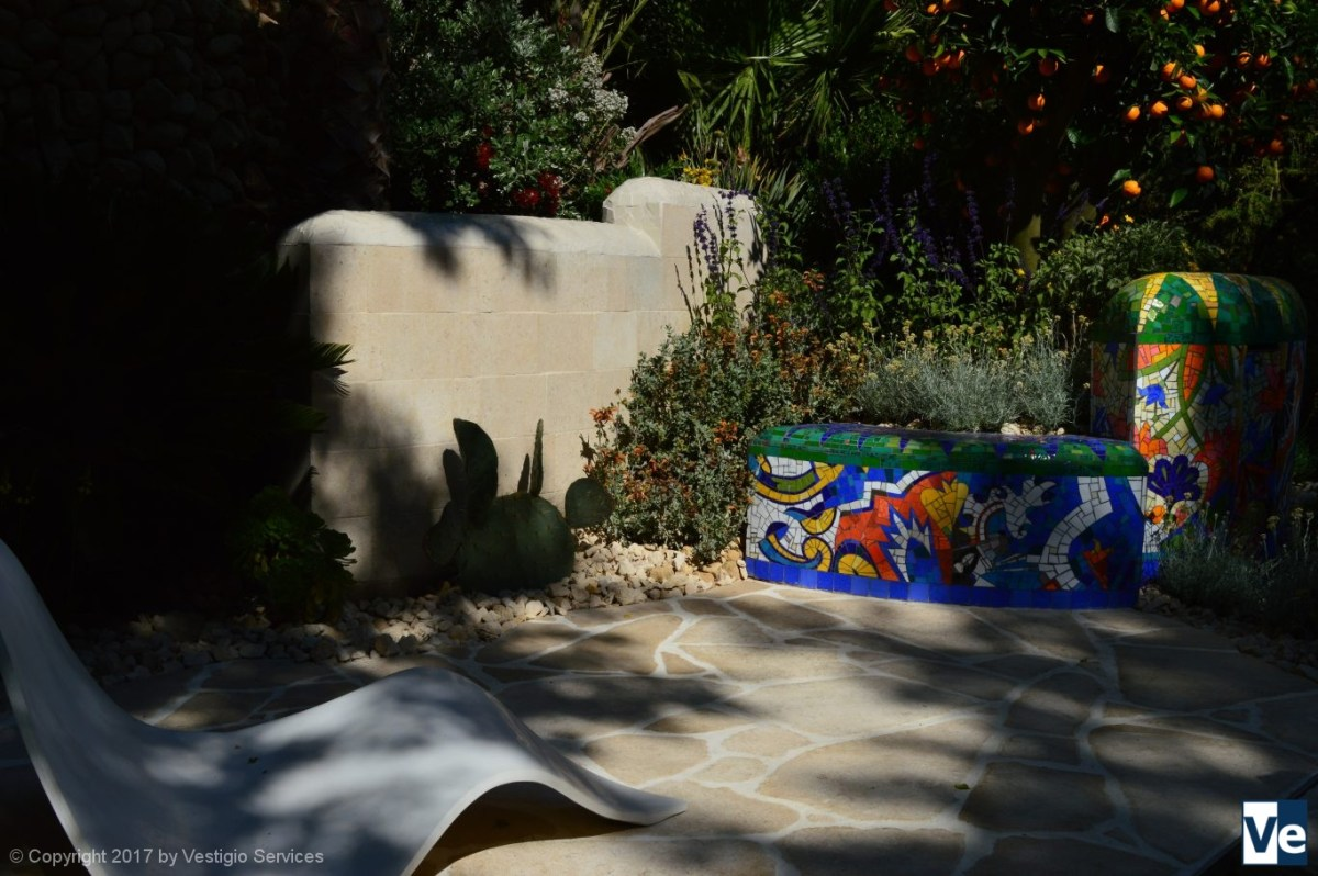 The Viking Cruises Garden of Inspiration by Sarah Eberle