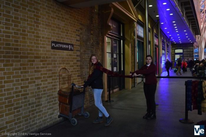 Хогвартс-экспресс и платформа 9 ¾: фонетика по теме Гарри Поттер
