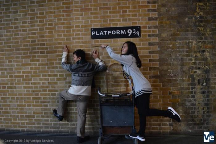 Хогвартс-экспресс и платформа 9¾: фонетика по теме Гарри Поттер