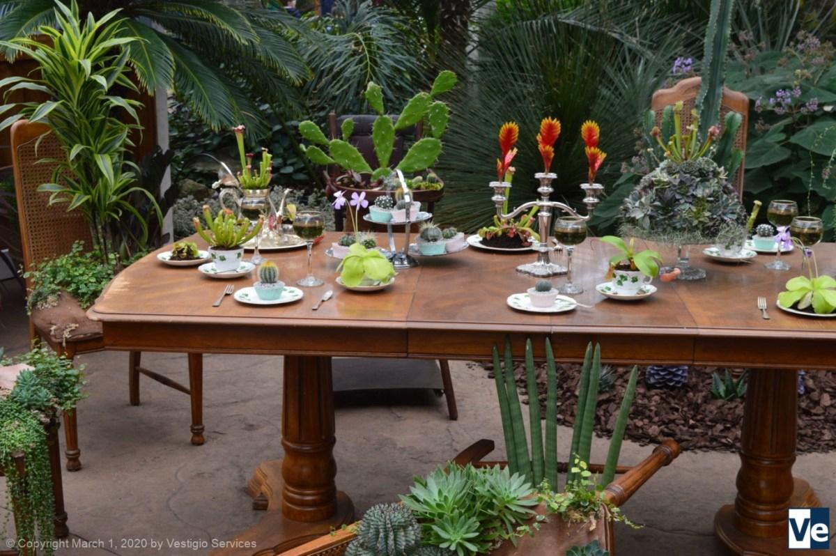 Комнатные растения викторианского дома в ботсаду Wisley
