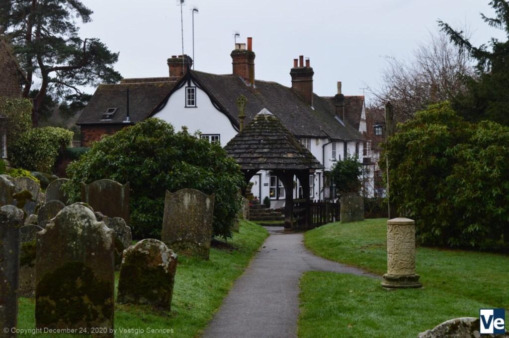 Shere village England