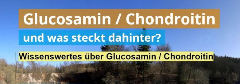 Was ist Glucosamin und Chondroitin?