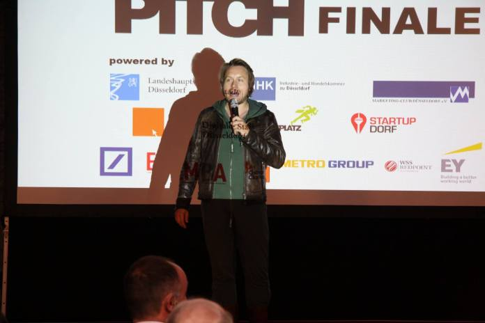 Then this guy kicked off and MC'ed the pitches